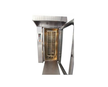 commercial rotary rack bakery oven