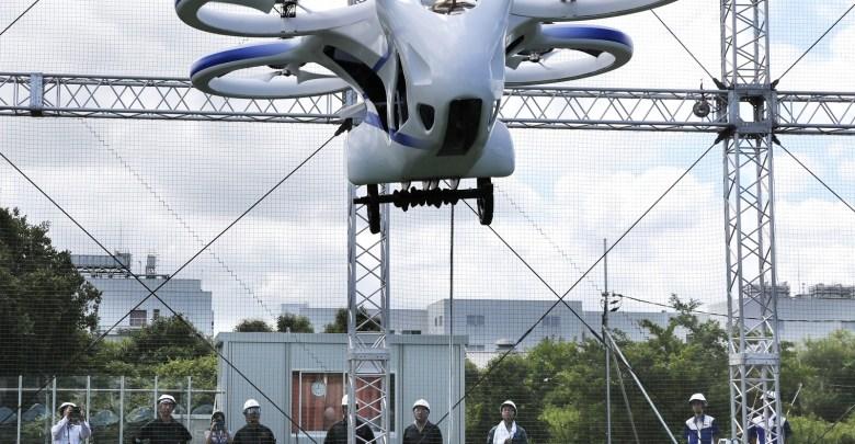 Carro voador do Japão faz voo de 1 minuto e deve ser lançado até 2030 1