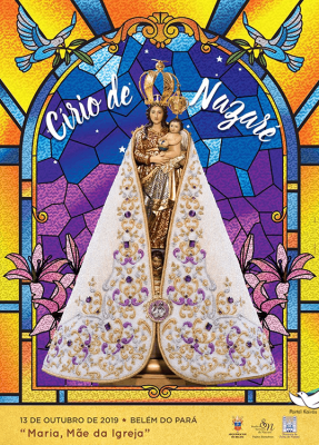 Cartaz Oficial do Círio de Nossa Senhora de Nazaré 2019