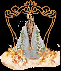 Imagem oficial de Nossa Senhora de Nazaré