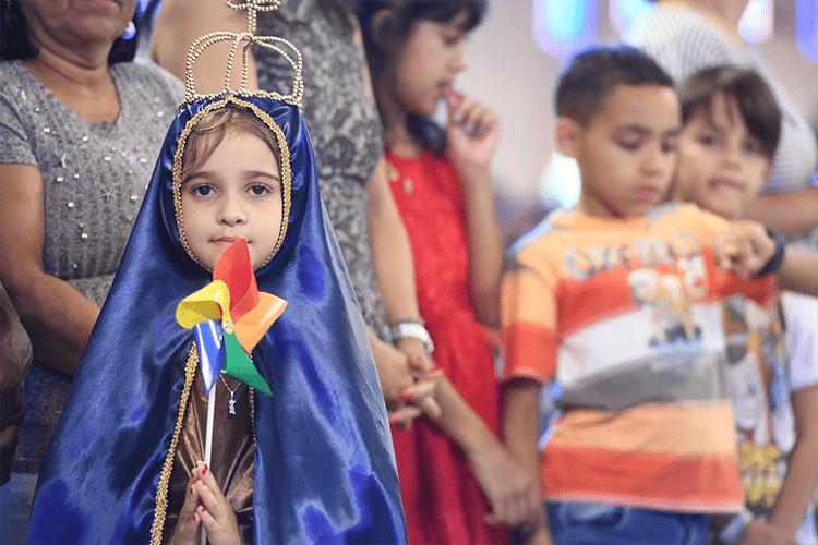 Celebração dos Dia das Crianças