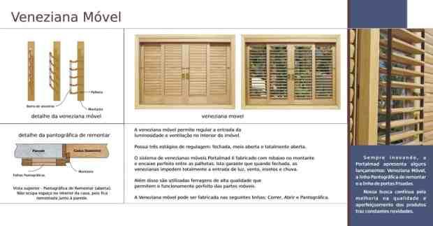 janela com veneziana articulada - veneziana móvel - palhetas móveis