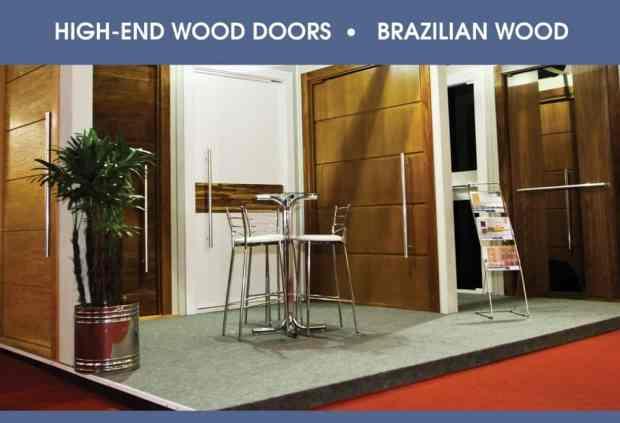 High Quality Wood Doors - Export - Brazil