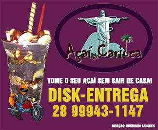 Açai do Carioca Marataízes