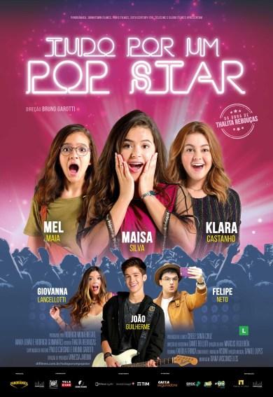 Tudo por um Pop Star em cartaz no Cine Via Sul em Marataízes