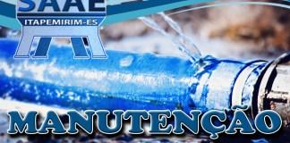 Atenção! O SAAE alerta sobre falta d'água em algumas localidades de Itapemirim