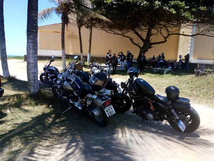 Halley e suas motos voadoras em Marataízes