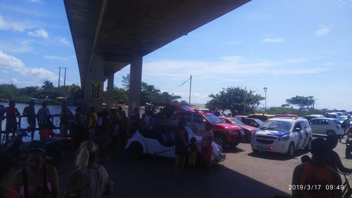 Corpo aparece no Porto da Barra em Marataízes