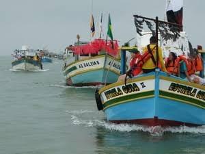 Festa das Canoas em Marataízes sem barraquinhas e shows. Prefeitura disse que não tem dinheiro