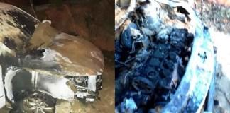 Dona de casa tem Gol Geração VI criminosamente incendiado em Cachoeiro nesta terça-feira (12)