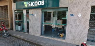 Assalto frustado no Sicoob de Fruteiras em Vargem Alta, no ES, nesta segunda (11)