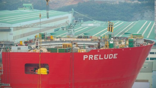 Prelude will operate in Australia