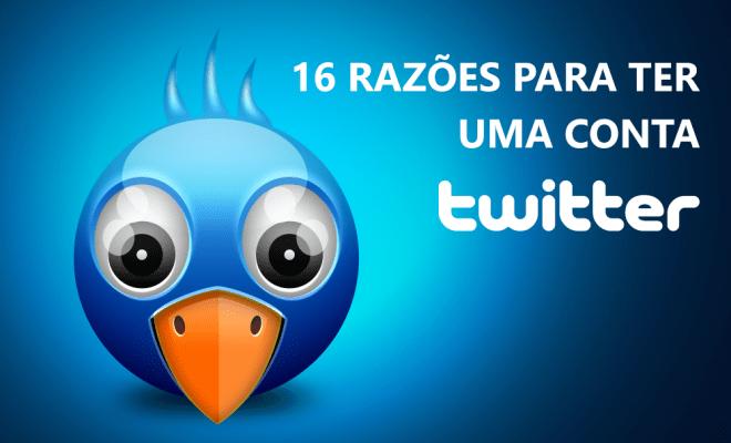 16 razoes conta twitter