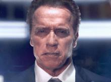 """A estrela da saga """"Exterminador Implacável"""", Arnold Schwarzenegger, revelou que já teve vontade de """"partir a cara"""" a Donald Trump, A troca de palavras."""