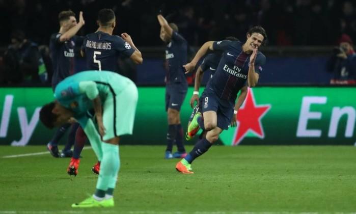 PSG atropelou o Barcelona por 4 - 0