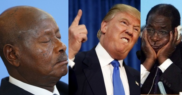 Leia na íntegra a Mensagem de aniversário ameaçadora que Trump enviou a Mugabe