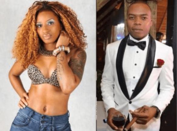 """Neide Sofia, uma das integrantes da banda angolana """"As Afrikanas"""", assumiu o seu novo romance, compartilhando uma fotografia na sua página oficial nas redes sociais ao lado de Guyzelh"""