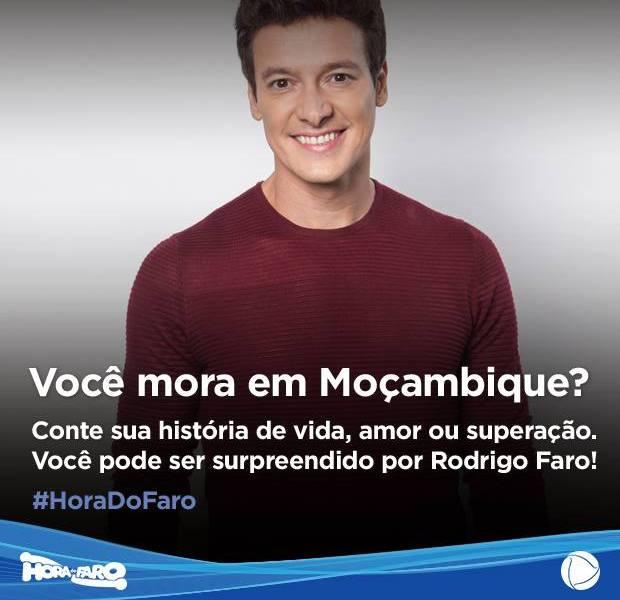 Se a sua historia de vida convencer ao carismático apresentador da rede record, Rodrigo Faro, você poderá participar do programa