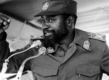 """A decisão consta de um edital do governo provincial de Luanda. a rua vai a partir desta quarta-feira, chamar-se """"Avenida Samora Machel""""."""