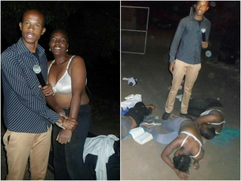 Um pastor da igreja Ministério dos Discípulos dos Últimos Tempos na África do Sul, tem o hábito de tirar as roupas dos membros de sua igreja durante as orações,