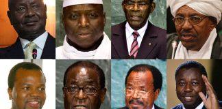 Os dirigentes africanos Acumulam tanta riqueza roubando aos seus países e depositam em bancos estrangeiros. Só depositam. e esquecem de viver a vida