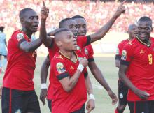 Os Mambas venceram, pela primeira vez na história, a Zâmbia, por uma bola sem resposta, em partida da primeira jornada do grupo K de qualificação ao CAN.