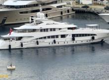 Isabel dos Santos comprou o iate Hayken, através da empresa Unitel. Com 50 metros, o iate da filha do presidente de Angola está avaliado em €31 milhões.