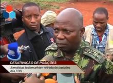 O Governo nega as acusações de Afonso Dlakhama, sobre alegada continuação de posições das Forças de Defesa e Segurança na serra de Gorongosa.