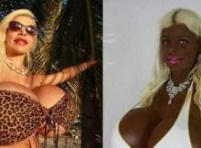 Modelo alemã decide fazer plástica para ser negra