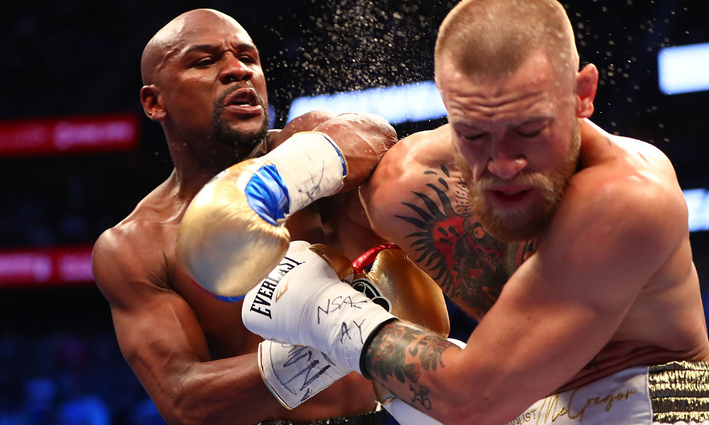 Floyd Mayweather vence conor McGregor