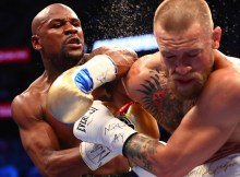 Floyd Mayweather vence conor McGregor