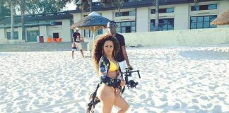 Barbie que garantiu que nos vídeos em que participa consegue arrecadar no mínimo cinquenta mil meticais está agora a gravar com o músico angolano Imo