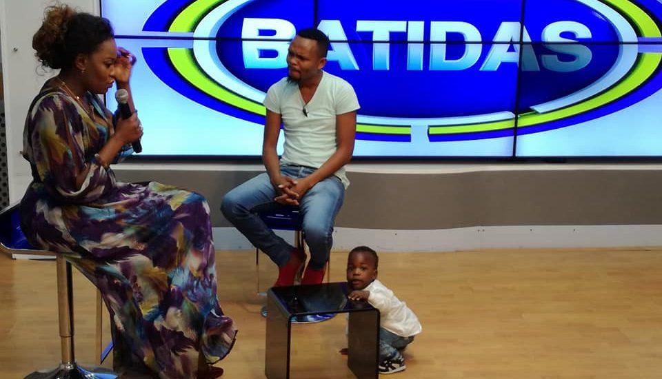Filho de Mr Bow tambem quer ser cantor, King Junior é filho de Tania Matsinhe e o King Bow, Tania garantiu isso no programa Batidas do Fred Jossias