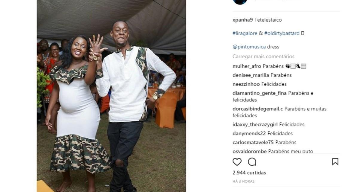 O rapper Sleam Nigger ficou este fim-de-semana noivo da namorada Dioclésia Moisés, e fez questão de partilhar uma fotografia que prova que está oficialmente comprometido.