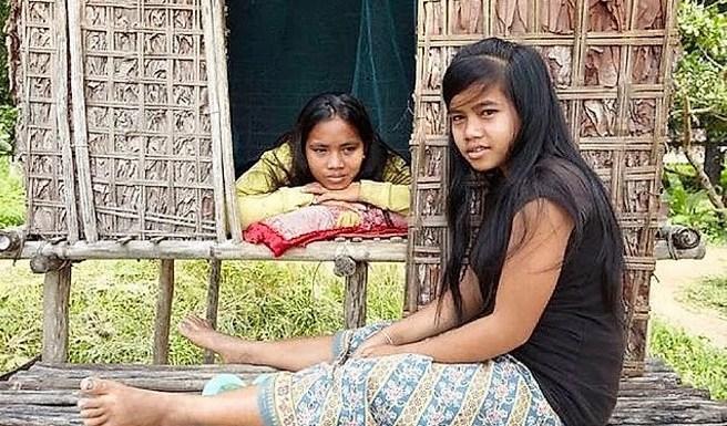 Na tribo Kreung do Camboja, as meninas vão a cama com qualquer pessoa até conseguir um marido.