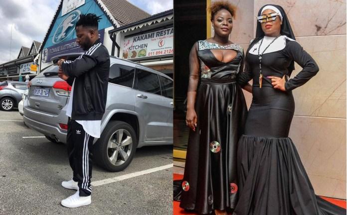 O conceituado músico moçambicano, Ziqo da Silva também mostrou sua indignação perante aos looks extravagantes ostentados pelas celebridades moçambicanas