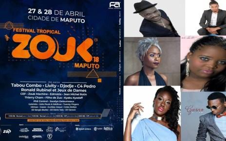 Começou a ser divulgado o cartaz do 'Festival Tropical Zouk', evento que une vários fazedores de música tropical ao nível da lusofonia, entretanto tal cartaz está a ser alvo de críticas nas redes sociais