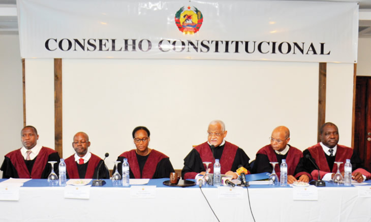O Conselho Constitucional validou e proclamou ontem os resultados da segunda volta da eleição intercalar de Nampula. Paulo Vahanle