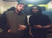 O músico moçambicano Hernani da Silva publicou no Instagram uma foto captada num estúdio de gravação ao lado do rapper português Sam The Kid