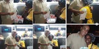 O promotor de eventos Dário Ussene prestou solidariedade a senhora que Tânia do Txova que há diasfoi humilhada publicamente pela Dra Isa Manjate