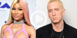 E!NEWS chegou aos representantes de Nicki Minaj e Eminem para comentários adicionais, mas uma fonte nos disse que isso tudo é simplesmente uma piada
