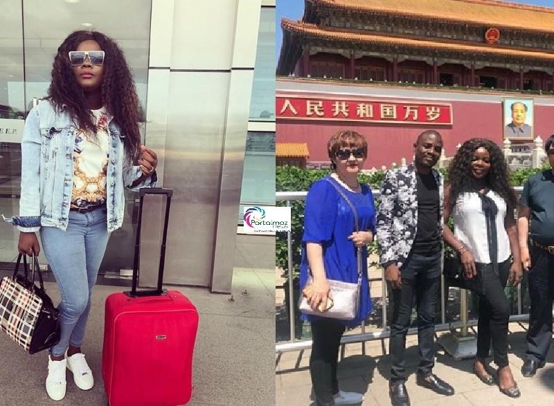 É motivo para dizer que a música moçambicana está a ganhar espaço a nível internacional. É que a cantora Lourena Nhate se despediu dos fãs com malas aviadas para ir actuar em um casamento na China