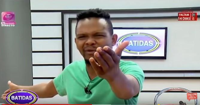 O polémico apresentador do programa Batidas, da TV Sucesso, Fred Jossias, alertou aos telespectadores que a recente parceria entre Moçambique e Angola