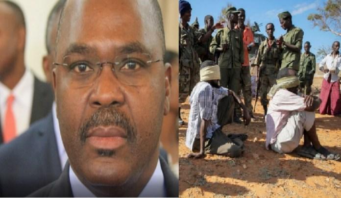 Jaime Basílio Monteiro, ministro do Interior moçambicano, declarou este sábado que 2 alegados colaboradores do grupo armado foram capturados
