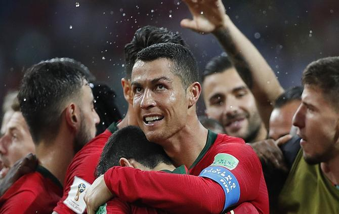 Portugal arrancou o Campeonato do Mundo de 2018, na Rússia, com um empate (3-3) com a Espanha, em Sochi. Jogo marcado por uma exibição de sonho de CR7