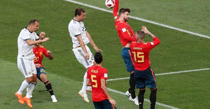A Rússia apurou-se hoje para os quartos de final do Mundial2018 de futebol, ao derrotar a Espanha no desempate por grandes penalidades (4-3)