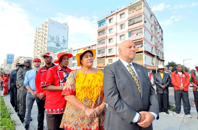 Eduardo Chivambo Mondlane, arquitecto da unidade nacional e primeiro Presidente da Frelimo, foi homenageado sábado pelo Distrito Municipal KaMpfumu