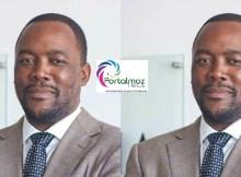 Samora Machel Jr, empresário, filho do saudoso antigo Presidente, Samora Machel, por sinal candidaton a cabeça de lista pela Frelimo na Cidade de Maputo