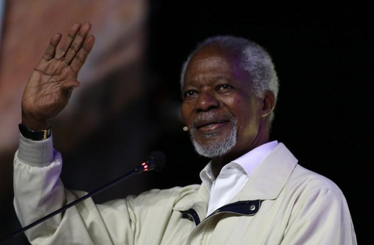 O antigo secretário-geral da Organização das Nações Unidas (ONU) e prémio Nobel da Paz de 2001, Kofi Annan, morreu aos 80 anos