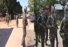 cinco militares em patrulha automóvel, entres os quais um oficial, morreram durante uma emboscada feita por um grupo armado na província de Cabo Delgado
